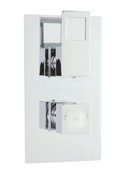 Related Hudson Reed Motif Twin Thermostatic Shower Valve With Diverter - MOT3207