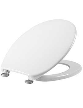 Aspire White Thermoset Toilet Seat - O801A