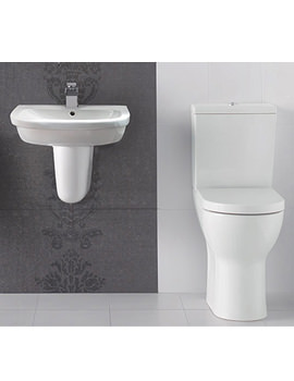 Related Balterley Vision Plus White Finish Cloakroom Suite