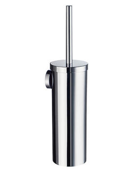 Home Wall Mounted Toilet Brush Chrome