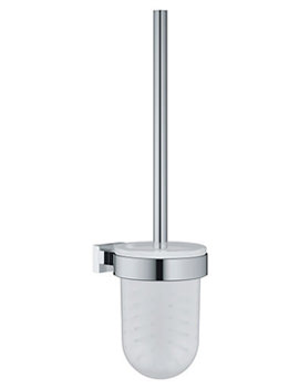Related Grohe Essentials Cube Chrome Toilet Brush Set - 40 513 000