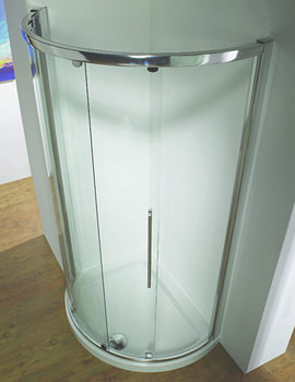 Kudos Original 1200 x 910mm LH Silver Side Access Slider Door