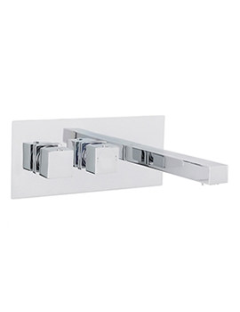 Related Lauren Series L Wall Mounted Thermostatic Basin Or Bath Filler Tap