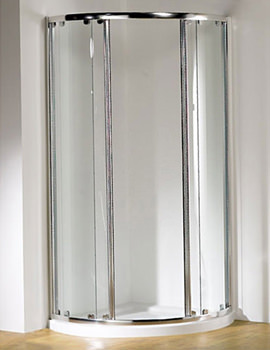 Original 1000 x 810mm LH Silver Center Access Slider Door