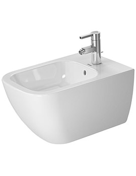 Duravit Happy D.2 355 x 540mm Wall Mounted Bidet
