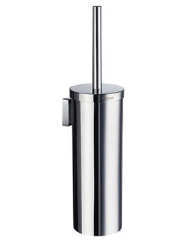 House Wall Mounted Brush and Holder Chrome - RK332