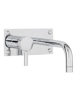 Hudson Reed Round Chrome Basin - Bath Filler Tap