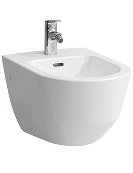 Pro Wall Hung Bidet White With 1 TH And Without Lateral Hole
