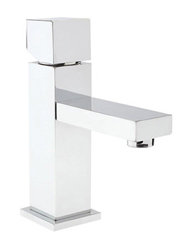 Kubix Single Lever Mono Basin Mixer Tap - PA355