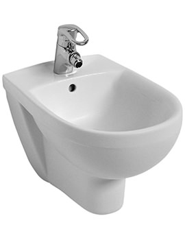 Refresh 1 Tap Hole Wall Hung Bidet 540mm - RE3411WH