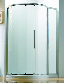 Original 1270 x 910mm LH Silver Slider Door Side Access