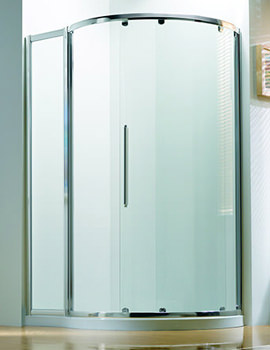 Original 1270 x 910mm RH Silver Slider Door Side Access
