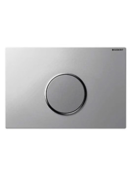 Geberit Sigma10 Matt Chrome Flush Plate For UP320-Battery Operated