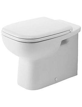 D-Code 355 x 560mm Back To Wall Toilet - 21150900002