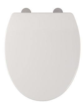 Mercury Soft Closing Toilet Seat White - 8701WSC