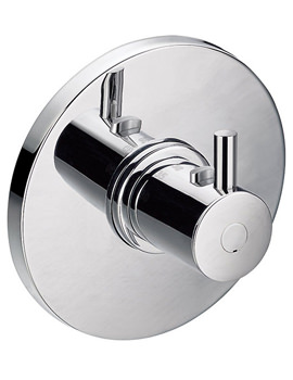 Levo Concealed Thermostatic Mixing Shower Valve - LV111