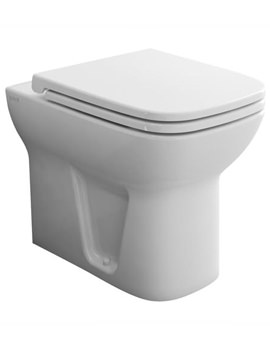 S20 Back-To-Wall WC Pan With Toilet Seat - 5520L003-0075