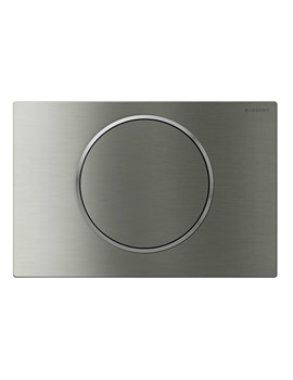 Sigma10 Stainless Steel Mains Operated Dual Flush Plate