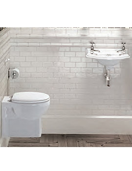 Traditional Wall Hung Cloakroom Suite