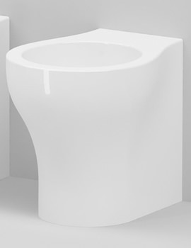 Vera Floor Standing 1 TH Back-To-Wall Bidet 550mm Projection