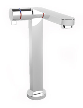 Singles-Pro Extended Basin Mixer Tap With Pop-Up Waste - 5A7536C00