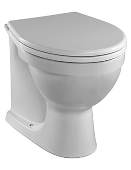 Alcona Back-To-Wall WC Pan 520mm - AR1438WH