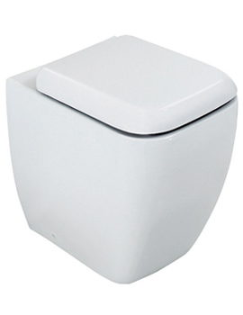 Metropolitan Back To Wall WC Pan With Soft-Close Seat 525mm