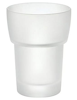 Xtra Spare Frosted Glass Tumbler - L349