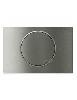 Sigma10 Battery Operated Lockable Flush Plate - Stainless Steel