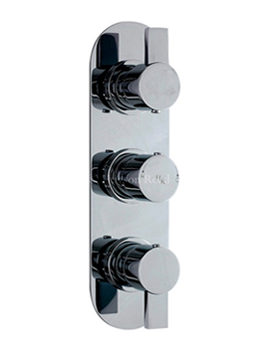 Related Hudson Reed Rapid Triple Concealed Thermostatic Shower Valve - RAP3411