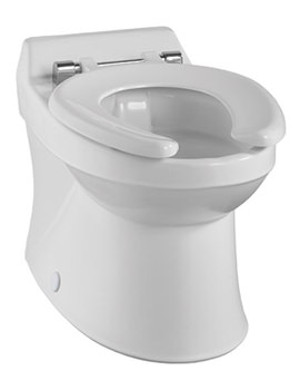 Related Twyford Sola School Rimless 300 Back-To-Wall WC Pan - SA1512WH
