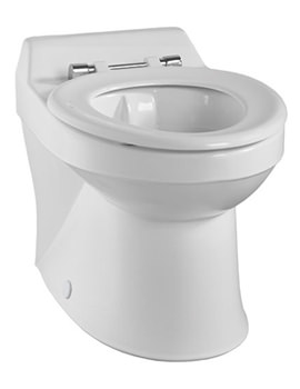 Related Twyford Sola School Rimless 350 Back-To-Wall WC Pan - SA1514WH