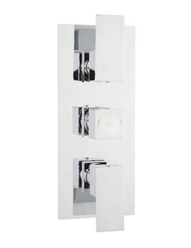 Art Triple Concealed Thermostatic Shower Valve - ART3211
