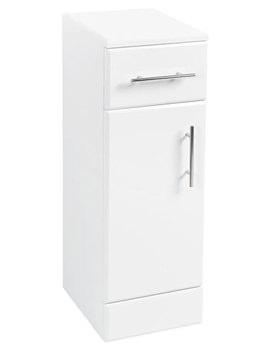 Beo 250 x 300mm Furniture Cupboard High Gloss White