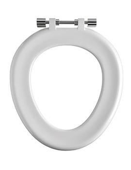 Full White Toilet Seat Ring For Sola School 350 Toilet Pan