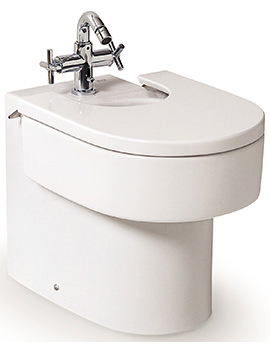 Happening Back-To-Wall Bidet With Cover - 357564000