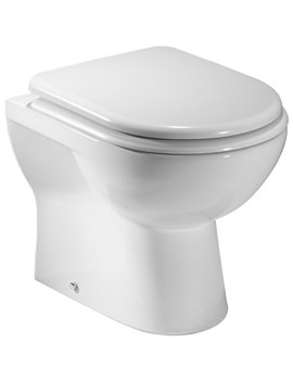 Tavistock Micra Back To Wall Toilet 510mm And Soft Close Seat - BTW100S