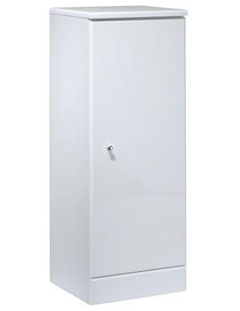 Tavistock Meridian 300mm White Floorstanding Storage Unit - M30FCW