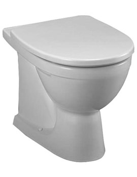 Related Twyford Refresh Back-To-Wall WC Pan 530mm - RE1438WH