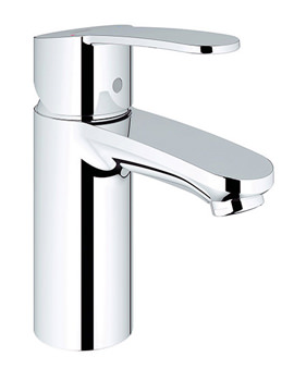 Grohe Eurostyle Cosmopolitan Chrome Mono Basin Mixer Tap Smooth Body
