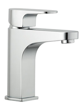 Lush Mono Basin Mixer Tap With Press Top Waste - LUSH113