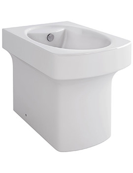 Dekka Back-To-Wall Bidet 540mm - B1094