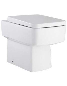 Ceramic Back To Wall WC And Seat - CPA001