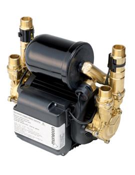 Stuart Turner Monsoon Universal Twin Impellar Shower Pump 1.5 Bar