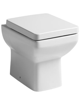 Tavistock Q60 Back To Wall Pan And Soft Close Seat 460mm - BTW900S