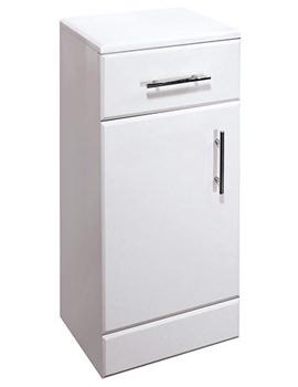 Essential Gem White Cupboard Unit 350mm - EF106W