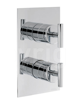 Glide Recessed Thermostatic Shower Valve - GL1000RC
