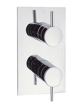 Kai Lever Recessed Thermostatic Shower Valve-KL1000RC