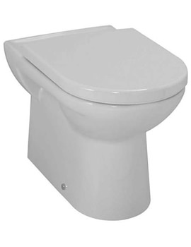 Pro Floorstanding White Back To Wall WC Pan 580mm Projection