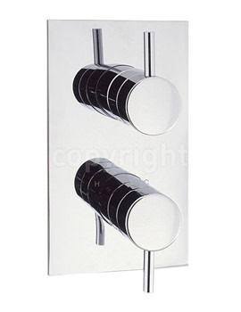 Elite Thermostatic Shower Valve Portrait - EL1000RC